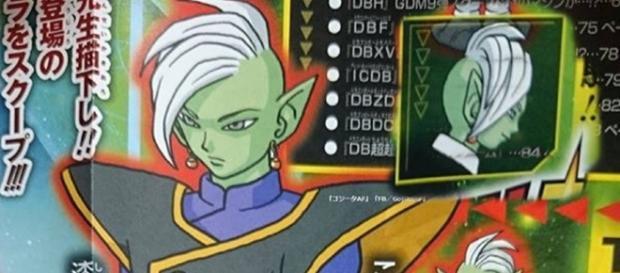 Zamasu, el rey dios de Dragon Ball Super