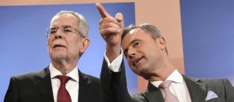 Alexander Van der Bellen e Norbert Hofer - diepresse.com