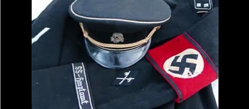 Fotografia de un uniforma nazi WW2