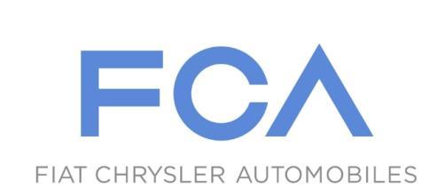 Il logo Fiat Chrysler Automobiles.