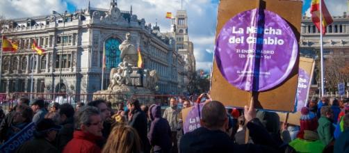 Unidos Podemos y los carteles de la discordia.