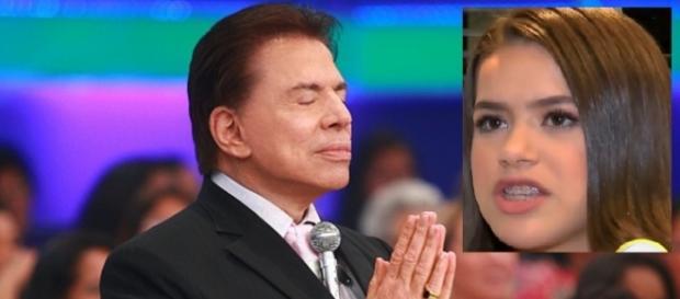 Maísa faz espécie de premonição para Silvio Santos