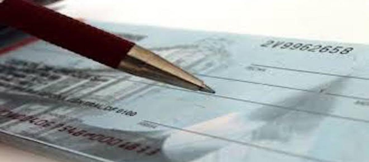 Post datazione di un assegno personale