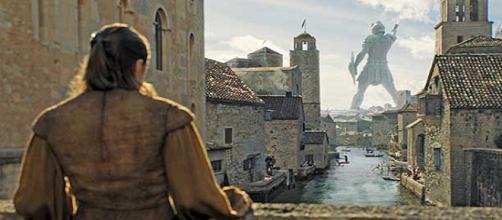 Arya Stark disfruta de las vistas de Bravoos. HBO