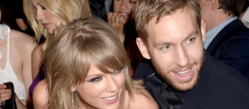 Calvin e Taylor no Billboard Music Awards de 2015