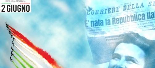 E' il 2 giugno, l'Italia vede finalmente l'entrata nella Repubblica