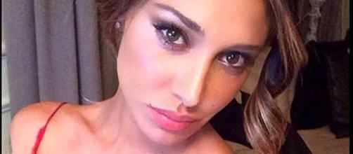 La modella argentina Belen Rodriguez.