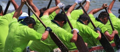 Une grande compétition de Canoe Kayak