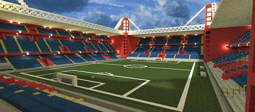 Versione virtuale dello stadio Luigi Ferraris