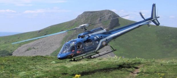 Elicottero del soccorso alpino