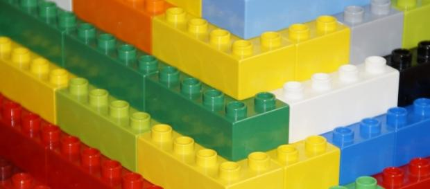 I celebri ed intramontabili mattoncini lego