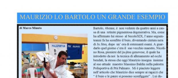 La pagina di SturlaNews2016 dedicata a Maurizio Lo Bartolo