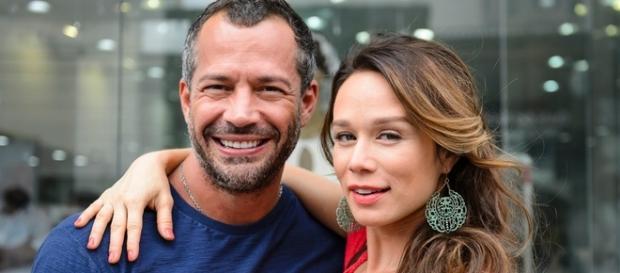 Mariana Ximenes e Malvino Salvador em 'Haja Coração'