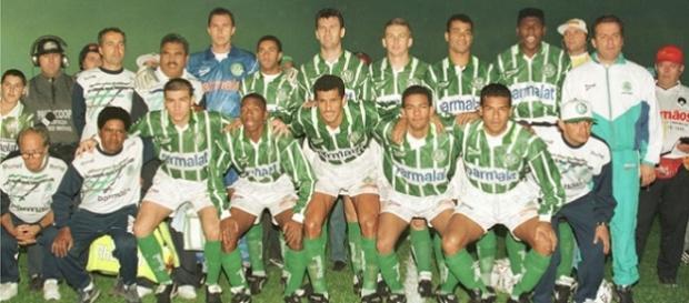 Palmeiras-1996: 102 gols e título paulista com larga vantagem (Fonte: Lancenet)