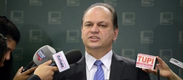 Ricardo Barros, Ministro da Saúde do governo interino de Michel Temer
