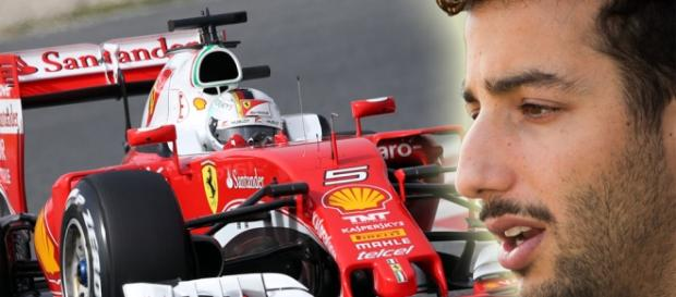 """Ricciardo puede ser el próximo piloto de la """"Scudería"""""""