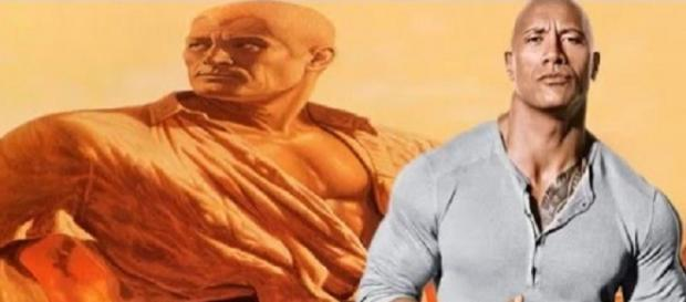 Source: Rock against picture of Doc Savage as seen on a YouTube video