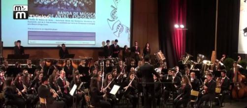 Banda de Antas em Concerto no Festival de Bandas de Braga