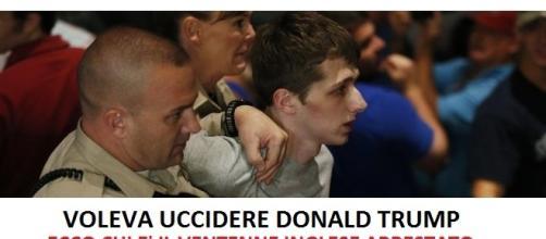 Las Vegas, fermato ventenne inglese che ha provato ad impadronirsi della pistola di un poliziotto per sparare a Donald Trump
