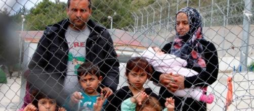 Migiaia di famiglie sono bloccate sulle isole greche. Credits: Mohammad Ghannam MSF