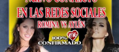 Romina se enfrenta a Aylén milla