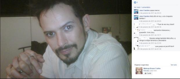 Alejandro 'Jano' Fuentes, ex-The Voice (Foto/Facebook)