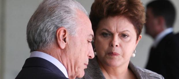 Dilma e Temer fazem guerra de votos à véspera de votação do ...