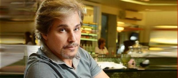 Edson Celulari conta com o apoio dos amigos para enfrentar o câncer