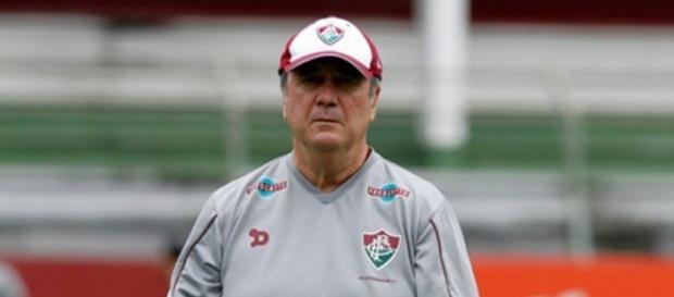 Flu, de Levir Culpi, derrotado pelo Sport (Foto: Nelson Perez/Fluminense F.C./Divulgação)
