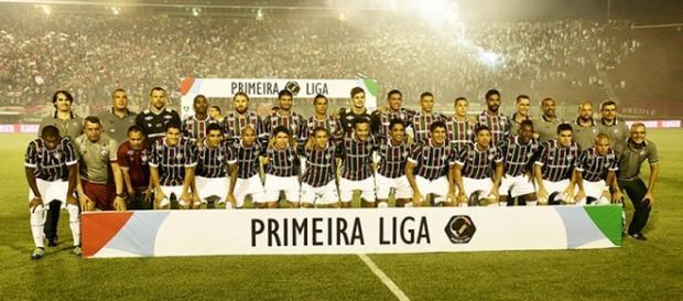 Fluminense, campeão da Primeira Liga em 2016 (Foto: Futebol Interior)