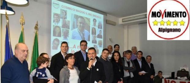 """Il gruppo di """"Alpignano 5 Stelle"""" sconfitto al ballottaggio da Andrea Oliva"""