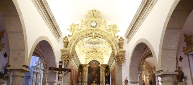 Interior da Igreja de Santa Marinha de Forjães - Esposende