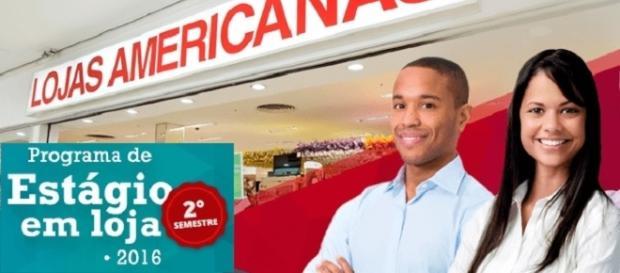 Programa de Estágio das Lojas Americanas