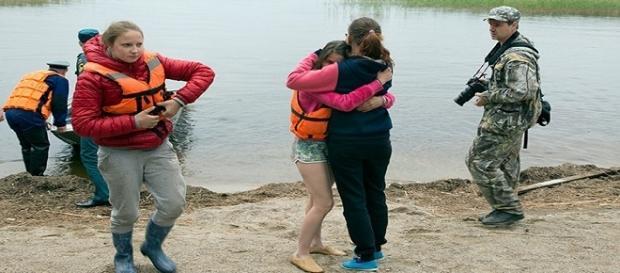 Trágica muerte de niños en un lago en Rusia
