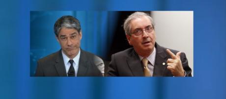 Cunha critica William Bonner e o 'Jornal Nacional'