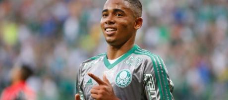 Gabriel Jesus é lucro garantido para o Palmeiras