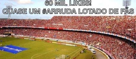 O Arrudão vai receber excelente público para Santa Cruz x Flamengo