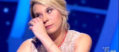 La presentatrice italiana Maria De Filippi.