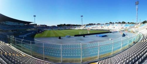 Lo Stadio 'Adriatico - Cornacchia' di Pescara.