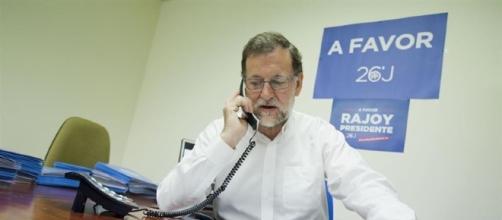 Mariano Rajoy, durante la campaña de las segundas elecciones electorales