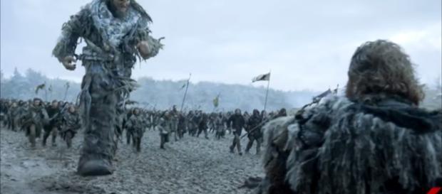 The epic Battle of Bastards/Photo via YouTube