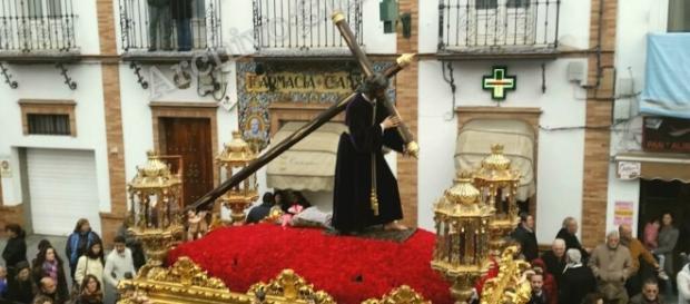 Paso procesional del Gran Poder de Castilleja de la Cuesta, Sevilla - Fuente: Archivo Chorreón