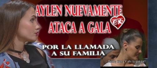 Aylén se desquita con Gala por la llamada telefónica