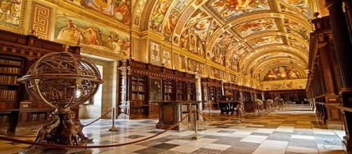 Biblioteca de El Escorial (Madrid).
