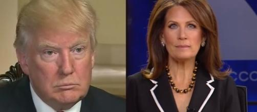 Donald Trump, Michele Bachmann, via YouTube