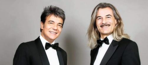 Il cantante Marcello Cirillo e il maestro Demo Morselli