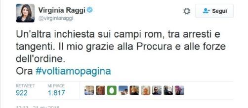 Il sindaco di Roma sui campi nomadi: ok ma ora si volta pagina.