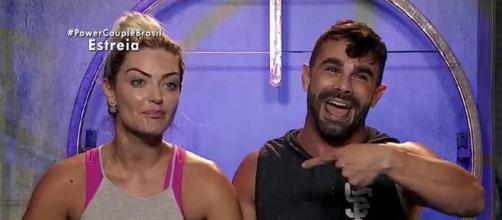 Laura Keller E Jorge Souza S 227 O Os Vencedores Do Power Couple