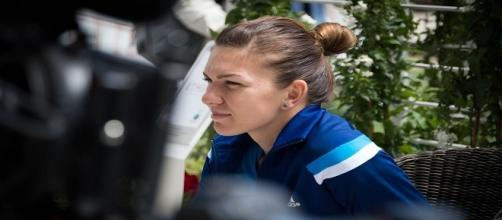 Simona Halep at Rome back in 2014/ Photo: Vale Alemanno via Flickr