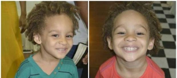 Antônio e Benício, gêmeos de 3 anos, são vítimas de racismo em escola (Foto: Arquivo pessoal/Débora Figueiredo)